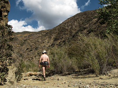Free hiking alone