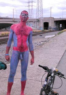 World Naked Bike Ride - Los Angeles