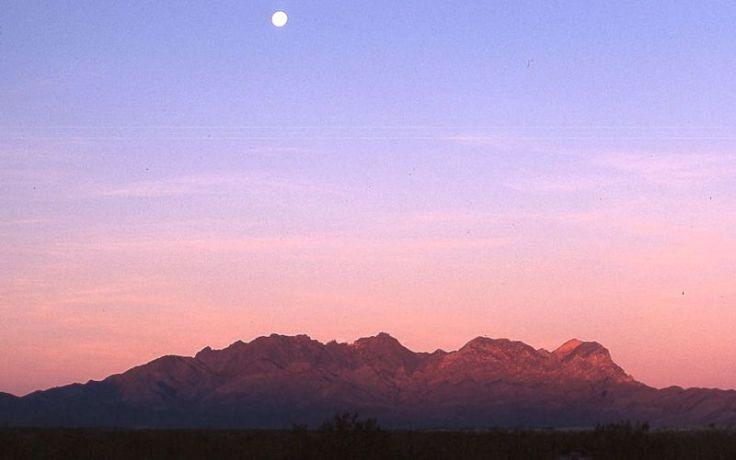moonrise over providence mtns