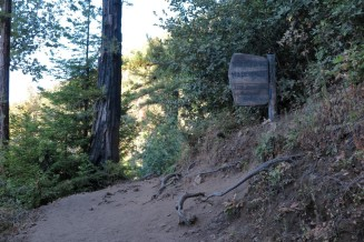 Entrance to the Ventanna Wilderness area.