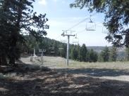 Bottom of this ski lift...