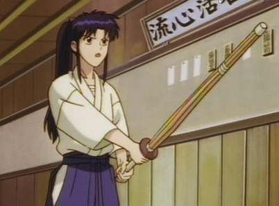 Kaoru the fighter