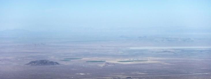 Farming in the Mojave. (Shakes head.)