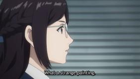 She feels Jin's painting doesn't like people like her.