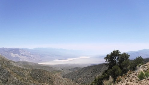 Atp the South Pass we are looking south towards Panamint Valley.