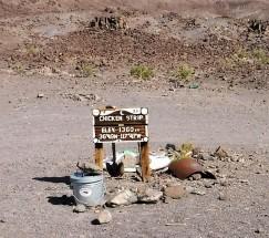 The local landing strip.