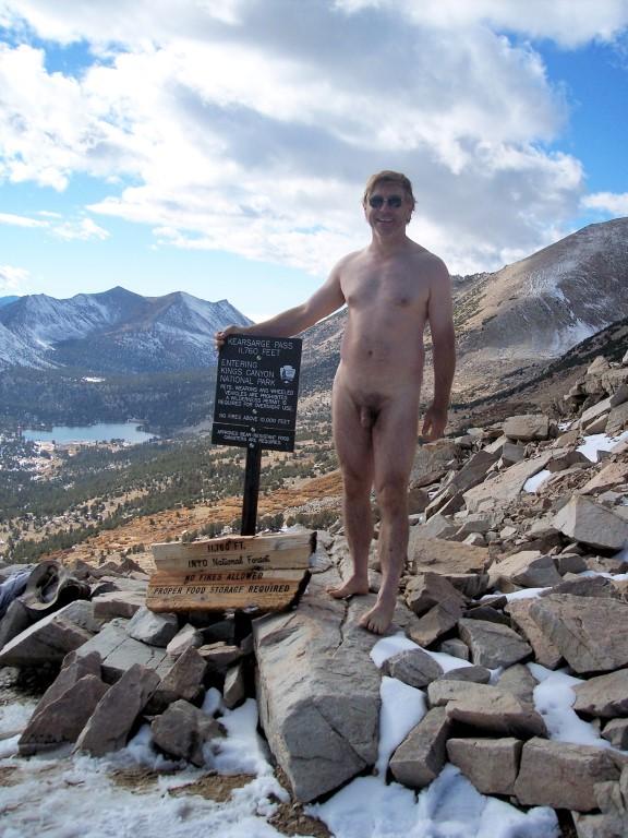 Kearsarge Pass nude