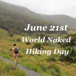 Naked Hiking Day